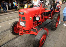 An old Fahr tractor Stock Images