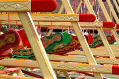 Old fairground ride B Royalty Free Stock Image