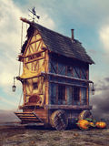 Old fairytale house Royalty Free Stock Photos