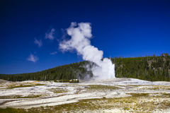 Old faithful Royalty Free Stock Image