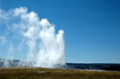Old Faithful Stock Photography