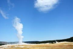 Old Faithful geyser Royalty Free Stock Photography