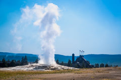 Free Old Faithful Geyser Erupting At Yellowstone National Park. Stock Images - 96980614