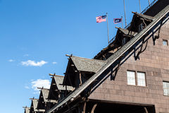 Old Faithful Inn Details Royalty Free Stock Image