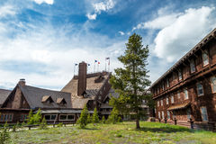 Old Faithful Inn Royalty Free Stock Images