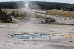 Old Faithful Park - Wyoming Royalty Free Stock Photos