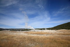Old Faithful - Yellowstone National Park Stock Photos
