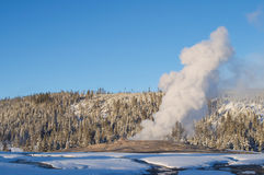 Old faithful Royalty Free Stock Images
