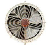 Old fan air compressor Stock Image