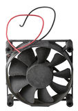 Old fan for cooling CPU Royalty Free Stock Photography
