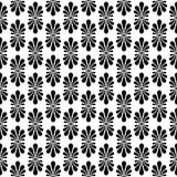 Old Fan Stripes Seamless Pattern. Old fan motif palmette, a stylized palm leaf. Classical motif loking like a stylized honeysuckle flower. These radiating motifs Royalty Free Stock Photos