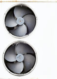 The old fan in refrigerator Stock Images