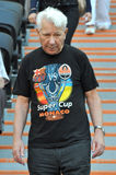 Old fan of Shakhtar Royalty Free Stock Photo