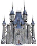 Old fantasy castle. 3D render of an old fantasy castle Royalty Free Stock Photography
