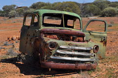 Old Dodge Fargo truck body outback Australia Royalty Free Stock Image
