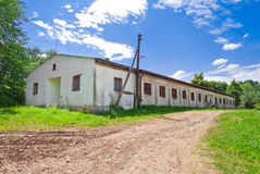 Old farm accommodation building Stock Image