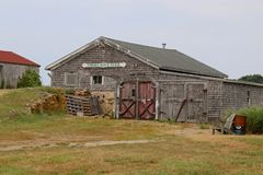 Corne Neck Farm, Block Island, Rhode Island Royalty Free Stock Photo