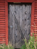 Old farm barn door Royalty Free Stock Photography