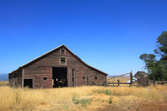 Old Farm Barn Royalty Free Stock Photos