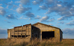 Old Farm Block Shed Royalty Free Stock Photo