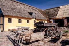 Old farm on Bornholm Stock Photography