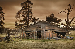 Old farm building Stock Photography