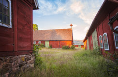 Old farm buildings Royalty Free Stock Images