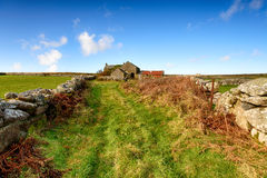 Old Farm in Cornwall Royalty Free Stock Photo