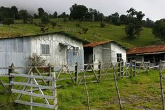 Old farm in Costa Rica Stock Photos