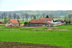 Old farm in the country Royalty Free Stock Images