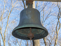 Old Farm Dinner Bell Royalty Free Stock Photos