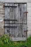 Old farm door Royalty Free Stock Image