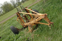 Old Farm Equipment Stock Photo