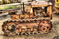 Old farm equipment. In a wonderful state or decay Stock Image