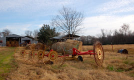 Old farm equipment Royalty Free Stock Photo