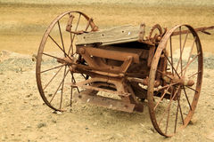 Old farm equipment Stock Photos