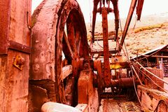 Farm equipment from yesteryear. Royalty Free Stock Photography