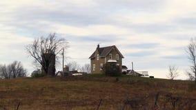 An old farm on a fall day