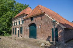 Old farm in historical village Bronkhorst Stock Photo