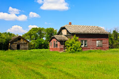 Old Farm House Stock Images
