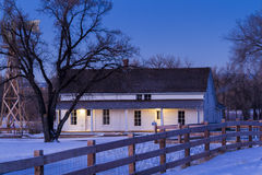 Old farm house Royalty Free Stock Images