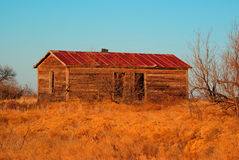 Old Farm House. In southwest Oklahoma Stock Photos