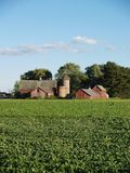 Old Farm House. Old red barn Royalty Free Stock Image