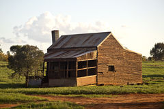 Old Farm House in Australia Stock Photography