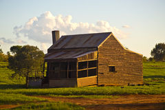 Old Farm House in Australia with warm colors Royalty Free Stock Images