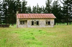 Old Farm House. Awanui Farm House - New Zealand Stock Photo