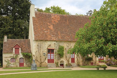 Old Farm house besides the Chateau. Chenonceaux. France. A restored XVI th century farm at the Chenonceau palace and gardens. Chenonceaux. France Stock Photos