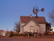 Old Farm House. Denver, Colorado-November 6, 2011: Street-Peterson house and farm at the Lakewood Heritage Center, Colorado Stock Photography