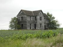 Old farm house in rural America travel vacation rustic Stock Photo