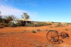 Free Old Farm House In West Australian Outback Stock Images - 55887524